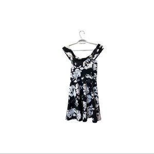 Windsor Floral Skater dress